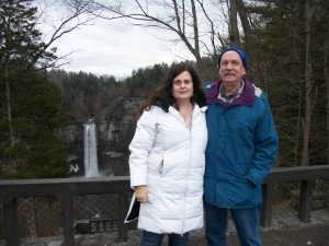 Bruce and Kathy at Taughannock Falls