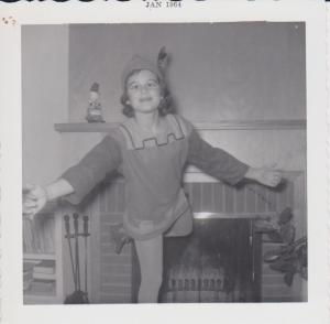 Kathy in Ballet costume