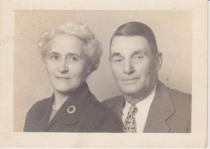 Grandpa and Grandma Mapes