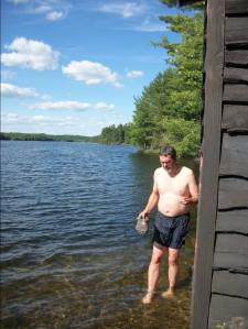Barth at Bob's Lake