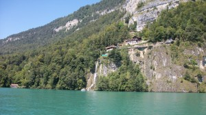 Boat to Interlaken--Slide 3