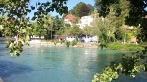swimmer-in-aare-river