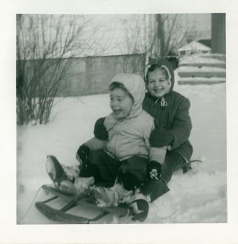 sledding at 1409